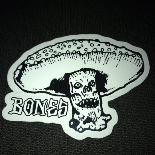 Bones Wheels Skateboard Sticker Skate Decal Logo Brigade Swiss Skull Laptop Car