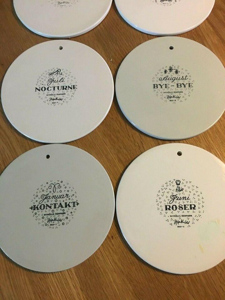 Porcelæn, Platter, Bjørn Winblad