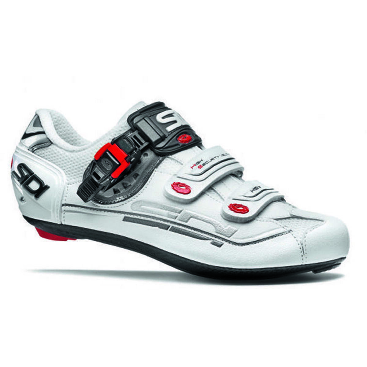 Sidi Genius 7 Carbon MEGA EE Width Road Cycling shoes White 44 EU   10 US