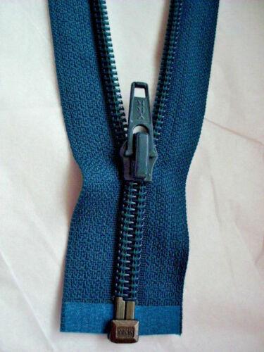 Cremallera petrol oscuro 908 nylon tamaño 5 divisible ykk Zipper fermuar cipzár