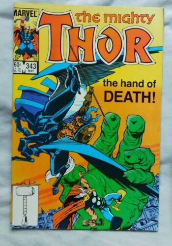 Thor #343 1984 Marvel Comic Book Near Mint