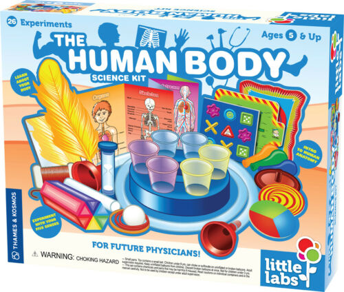 Thames /& Kosmos Kids First Lab THE HUMAN BODY Educational SCIENCE KIT