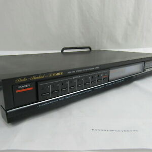 Vintage-Fisher-fm-284-AM-FM-Stereo-Synthesizer-Tuner-Vintage-Studio-Standard