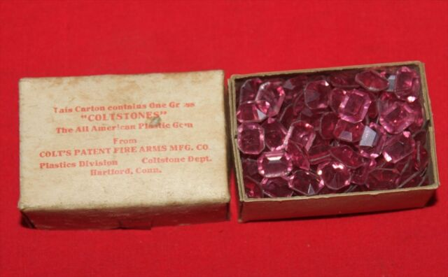 Colt Firearms Factory Coltstones full box 1940s Very Rare