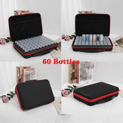 Bottles Diamond Painting Accessories Tools Storage Box Carry Case Container Bag