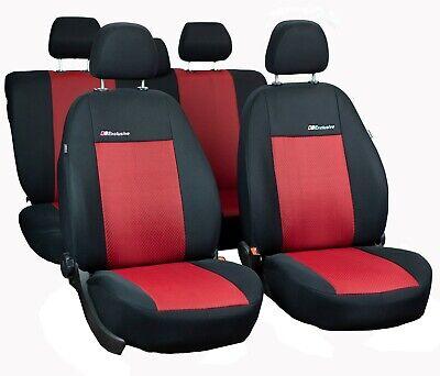 Schwarz Sitzbezüge für SEAT TOLEDO Autositzbezug Komplett