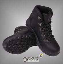 Boys Gelert Laced Leather Walking Boots Outdoor Footwear Sizes C10-2