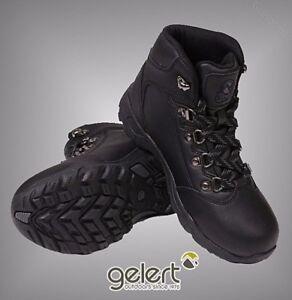 Enfants Garçons De Marque Gelert Laced Cuir Marche Bottes En Plein Air Chaussures Taille C10-2-afficher Le Titre D'origine