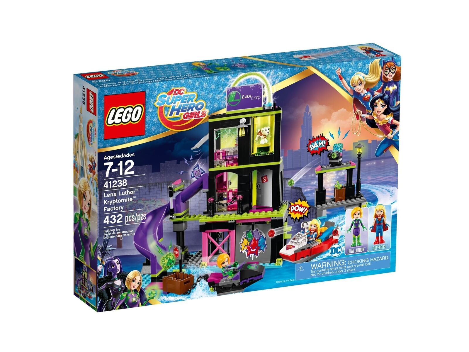 Lego Dc Super Hero Fille 41238 la Kryptomite™ . Neuf Emballage D'Origine Misb