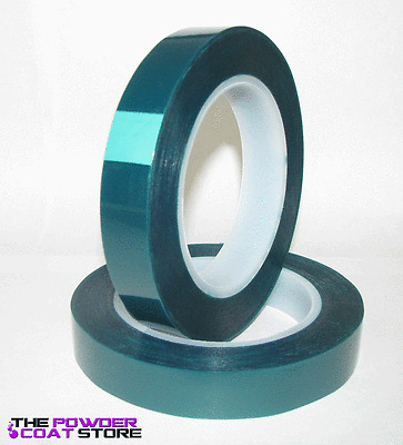 """3/4"""" x 72 yds - High Temp Tape for Powder Coating"""