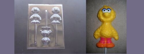 Baby Big Bird Sesame Street Lollipop Chocolate Candy Soap Crayon Mold
