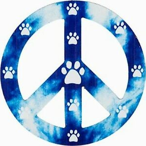 Blue-Peace-Sign-Paw-Print-Magnet