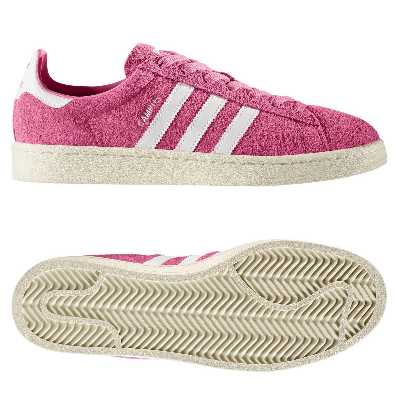 Adidas Adidas Adidas Originali UOMO Campus Scarpe da Ginnastica rosa Unisex Retrò Trifoglio | Consegna Immediata  4850d5
