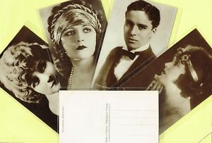 CINEMAGAZINE-1920s-Silent-Film-Star-Postcards-issued-in-France-1-to-150