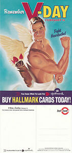 HALLMARK-GREETINGS-CARDS-VALENTINES-DAY-UNUSED-COLOUR-ADVERTISING-POSTCARD-a