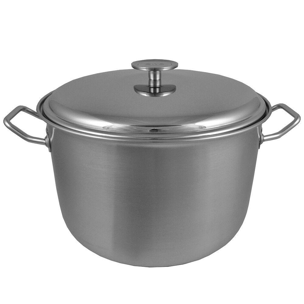 Aga 11 litre en acier inoxydable casserole preserving pan adapté pour tous et plaque de cuisson type