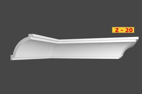 20 m+4 Ecken Styroporleisten Zierleisten Eckleisten Stuckleisten  80x85mm Z 20