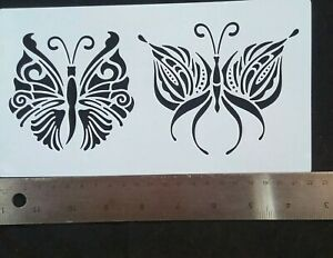 Butterfly Plastic Airbrush Template Painting Stencils Scrapbooking Decor Wall