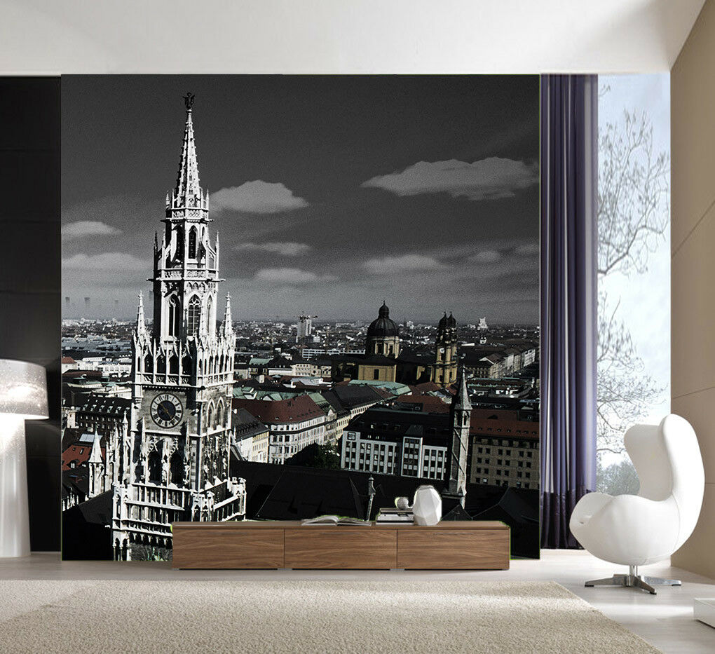 3D Night Ancient Town  53 Wall Paper Wall Print Decal Wall Deco Indoor Mural