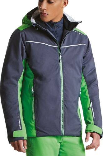 Dare2B Vigour Mens Waterproof Jacket Grey Breathable Skiing Ski Snow Sports Coat