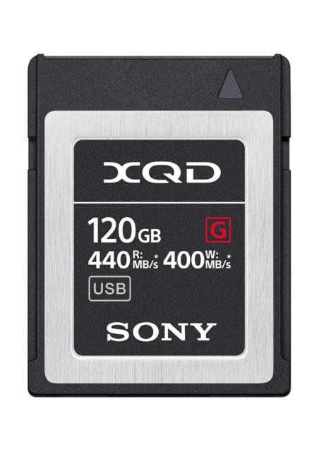 Sony QD-G120F 120GB XQD Memory Card