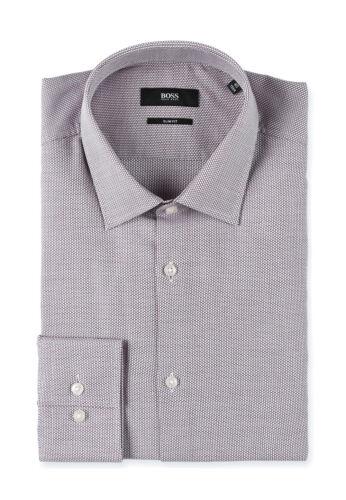 BOSS BLACK GREEN ORANGE UOMO CITY-Business-tempo libero-Camicia Slim-Regular-fit
