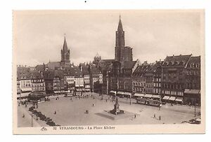 67-cartolina-STRASBURGO-La-place-Kleber-H9985