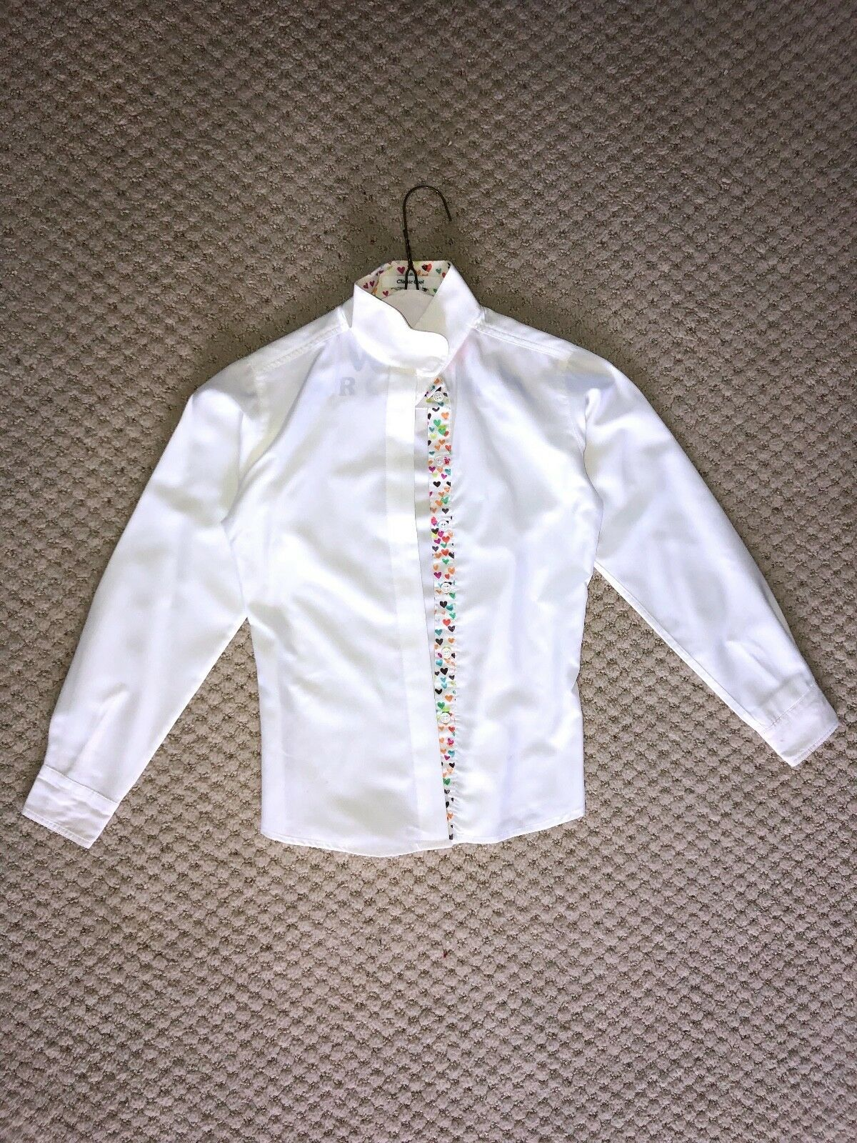 R.J. classics prestige collection girls show  shirt white  save 60% discount and fast shipping worldwide