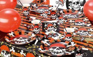 Piraten Party Kindergeburtstag Pirat Motto Deko Geburtstag Totenkopf ...