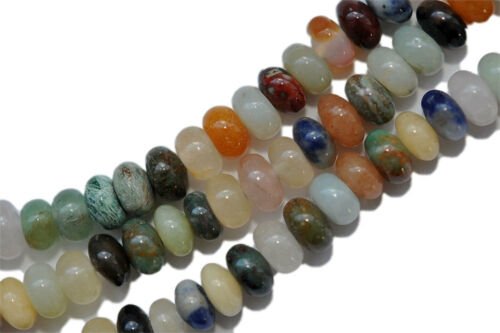 Z6-04 6 mm colorés pierres lentilles strang