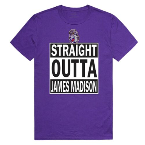 University of James Madison Foundation Dukes NCAA Straight Outta Graphic T Shirt