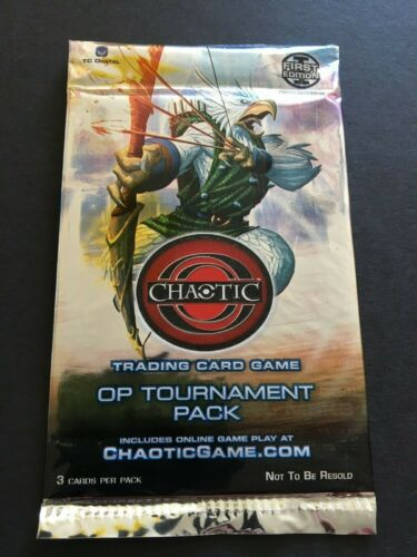 CHAOTIC SEALED ORGANIZED PLAY OP TOURNAMENT PACK A