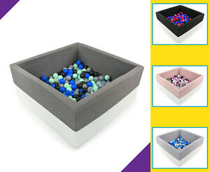Tweepsy-Baby-Square-Foam-Ball-Pit-with-250-Plastic-Balls-BKWE2