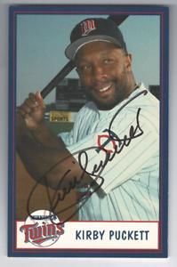 Kirby-Puckett-signed-autographed-photo-Minnesota-Twins-RARE-JSA-COA