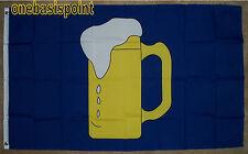 3'x5' Beer Mug Flag Banner Party Fun Advertising Business Bar Outdoor Indoor 3X5