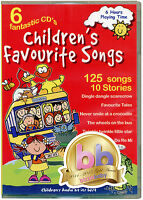 Children's Favourite Songs. 6 CDs  kids, nursery rhymes, songs, stories, *NEW*