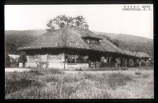 1960s RPPC NYO&W Depot, Summitville, NY, New York Ontario & Western Railroad