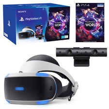 PlayStation VR V2 with Camera & VR Worlds Bundle NEW