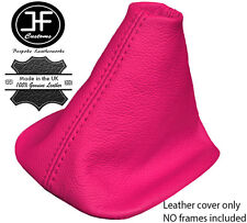 PINK REAL LEATHER MANUAL SHIFT BOOT FITS VW GOLF JETTA MK4 1998-2003