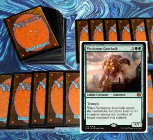 mtg-MODERN-GREEN-DECK-Magic-the-Gathering-rares-60-card-llanowar-elves-oviya