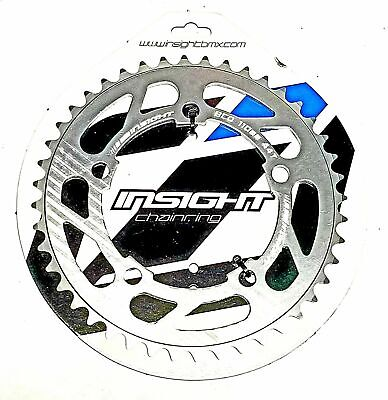 Insight 5-Bolt BMX Chainring 110mm BCD 35T Polished