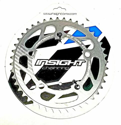 Insight 5 Bolt BMX Chainring 110mm BCD 34T Silver 3//32