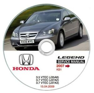 honda legend 2007 u003e workshop manual workshop manual ebay rh ebay co uk honda legend ka8 service manual honda legend 1999 service manual