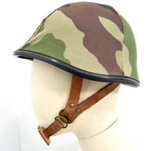 Genuine-Army-Military-Steel-Helmet-With-CCE-Camo-Cover-Para-Combat-Airsoft