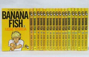 BANANA-FISH-Akimi-Yoshida-Manga-Japanese-Comic-VOL-1-19-Complete