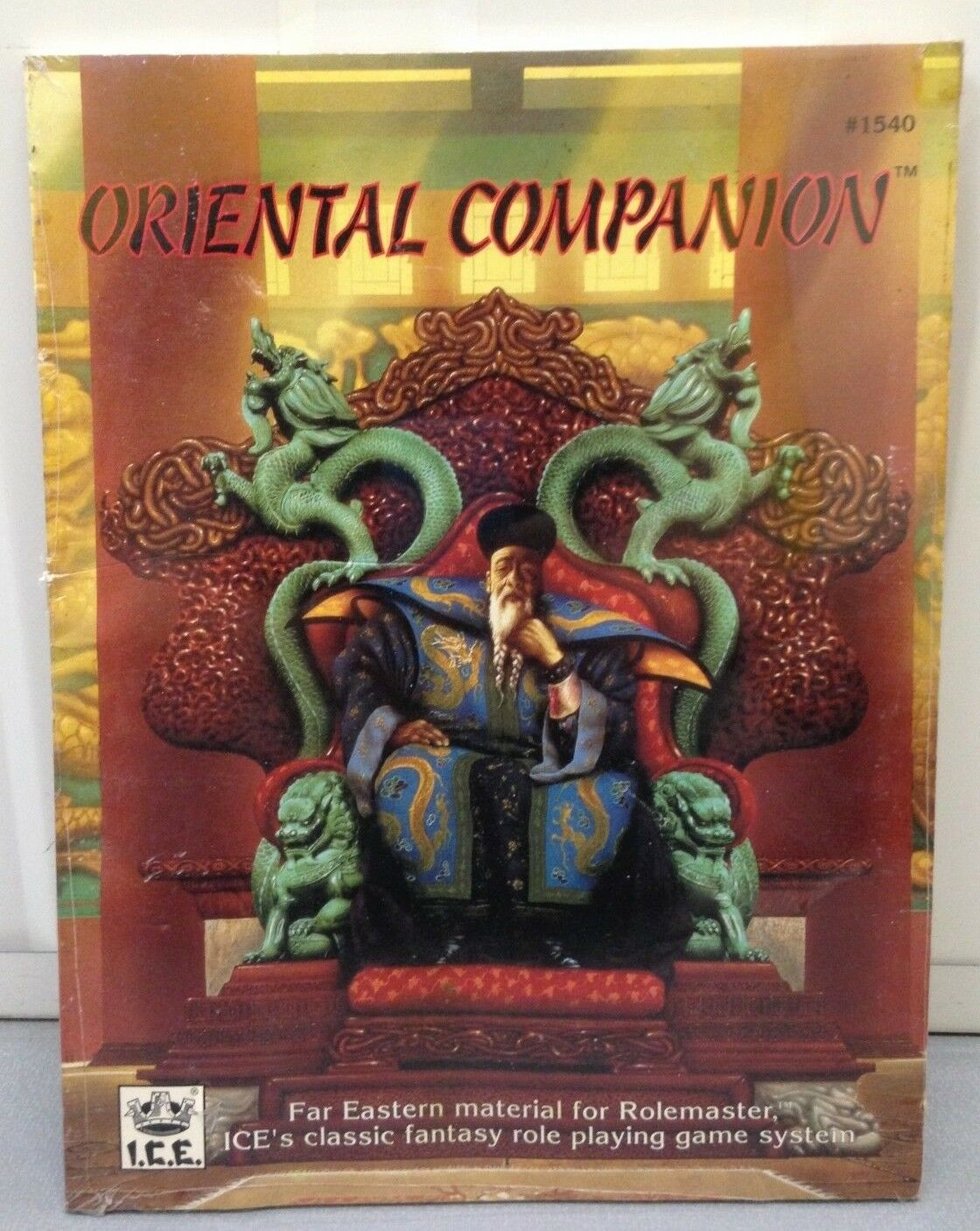 Oriental Companion - Far Eastern Material for for for Rolemaster - ICE - sealed 40d0d2