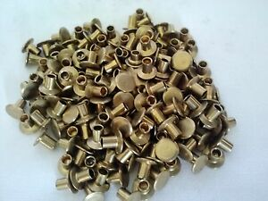 100 ~ 4-3 Chicago Pure Brass Brake / Clutch Rivets