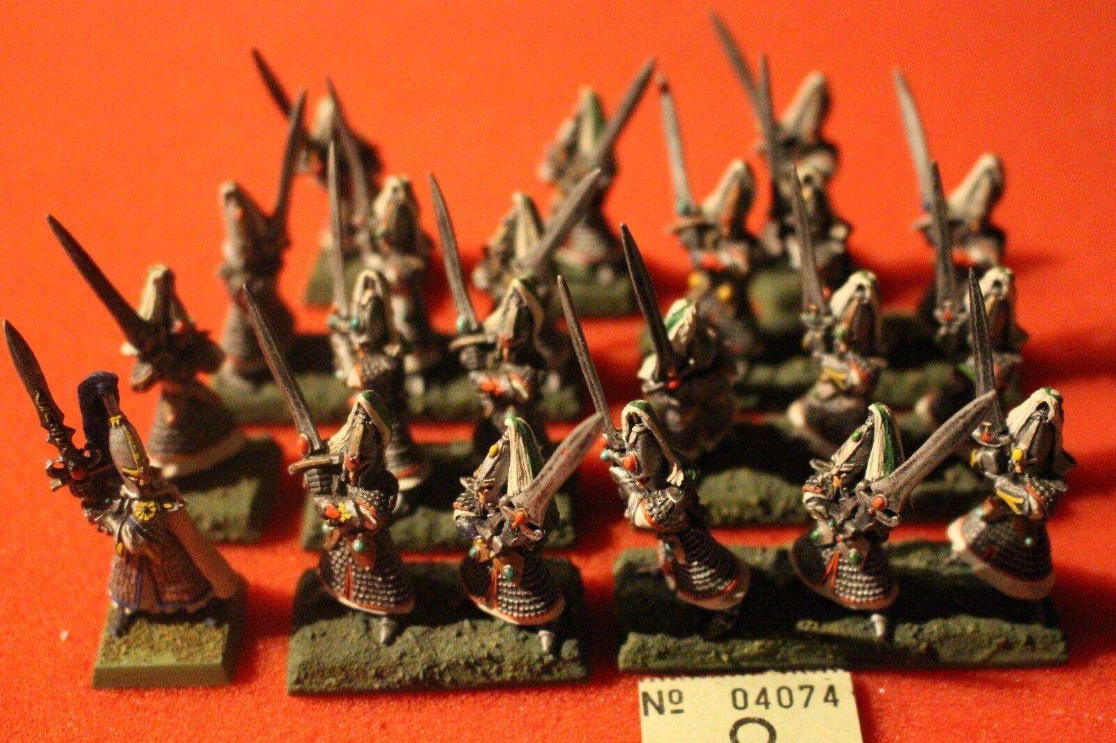 Juegos taller Warhammer Fantasy elfos alto elfo swordmasters de Hoeth Ejército De Metal