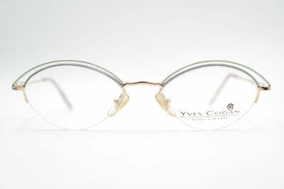 Cerca Voli Vintage Yves Cogan Yc 79 Blu 49 [] 18 135 Oro Argento Metà Bordo Occhiali Nos-mostra Il Titolo Originale