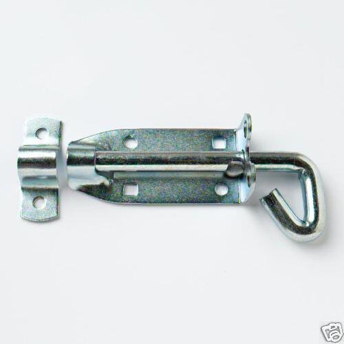 """3 OF PAD BOLTS BRENTON GATE BOLT LOCKABLE 200MM 8 /"""" PADBOLT HEAVY DUTY BZP 16A3"""